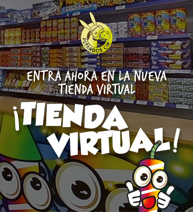 Tienda virtual de Petardos CM