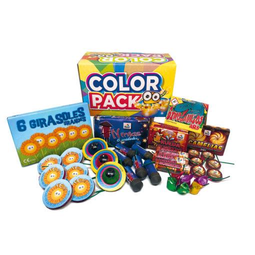 Color Pack - lote de petardos infantiles