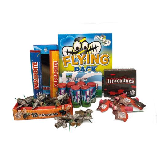 FLYING PACK - pack de petardos infantiles de Petardos CM