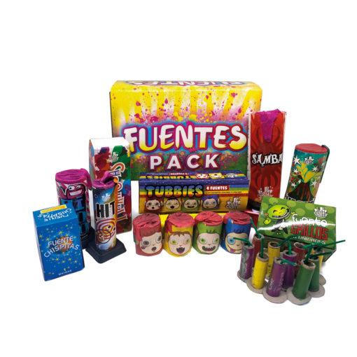 FUENTES PACK - pack de petardos infantiles de Petardos CM